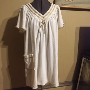 Vintage 70s Terry Cloth Cover Up